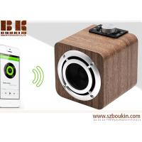 Buy cheap fm radio tf card aux audio 8w hifi super bass stereo sound system wood ibastek multimedia  speaker from wholesalers