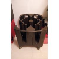 Buy cheap Premium Brown Plastic Adjustable Dish Cart | Plate Caddy from wholesalers