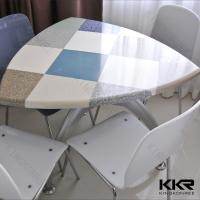 Buy cheap Solid Surface Table / Restaurant Shop KFC Mcdonald Table for 4 Seaters from wholesalers