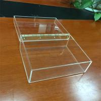 Buy cheap multi function clear fashion custom wholesale acrylic cube storage boxes from wholesalers