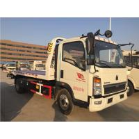 Buy cheap 4x2 3 Ton Road Wrecker Truck With Lifting / Pulling / Hoisting ZZ1087G381CE183 from wholesalers
