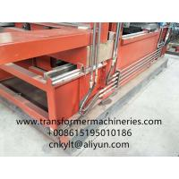 Buy cheap Transformer tank wall making machine from wholesalers