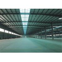 Buy cheap Export to Philippines high quality large span steel structure frame construction building steel workshop from wholesalers