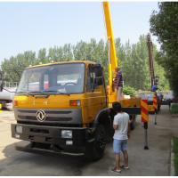 Buy cheap Dongfeng 4*2 190hp RHD 18m/20m/22m Hydraulic bucket truck for Kenya, China best price 18-22m overhead working truck from wholesalers