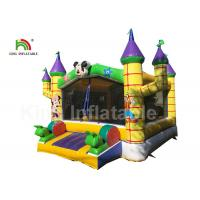 Buy cheap 0.55mm PVC Combo Mickey Mouse Commercial Jumping Castles With Step from wholesalers