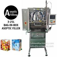Buy cheap 3-25L Single-head BIB Aseptic Filler for Sterile Products Bag in Box Aseptic Filling Machine product