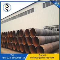 Buy cheap Spiral steel pipe  oil and gas line pipe from China Supplier with good quality from wholesalers