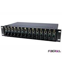 Buy cheap Universal Rack Mount Media Converter Chassis For Stand Alone Media Converter from wholesalers