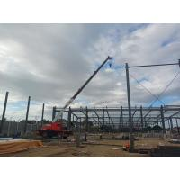 Buy cheap Prefabricated Structure Steel Worksop Wide Span Metal Frame Building product