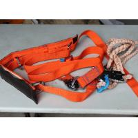 Buy cheap High Tenacity  Polyester Full Body Safety Belt with Safety Rope / lanyard from wholesalers