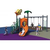 Buy cheap Kindergarten Freestanding Playground Equipment Child Outdoor With Swing And Slide from wholesalers