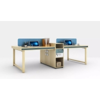 Buy cheap MDF Staff Working Desk oEM ODM Decorative Office Furniture from wholesalers