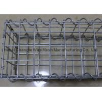 Buy cheap Rust Proof Galfan Coated Wire Gabion Baskets , Welded Stone Filled Gabions from wholesalers