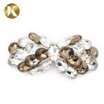 Buy cheap Custom Women'S Decorative Shoe Clips High Rhinestone Bow Hair Ornaments from wholesalers