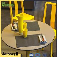 Buy cheap Amywell factory processing Round compact formica top kitchen tables product