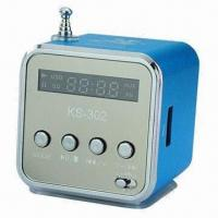 Buy cheap Rechargeable MP3 Player Speaker, Supports USB Flash Drive, TF Card Up to 16GB product