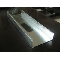 Buy cheap 80-180g/m2 Zinc Coated ASTM/GB/JIS Q195 Galvanized Steel Profile for Covering Channel from wholesalers