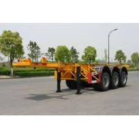Buy cheap 40ft Carbon-steel Container Trailer Chassis product