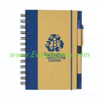 Buy cheap Eco-Friendly 5 x 7 Spiral Notebook & Pen from wholesalers