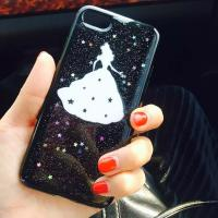 Buy cheap Soft TPU Small Star Space Snow White Princess Pasted Cell Phone Case Cover for iPhone 7 6s Plus from wholesalers