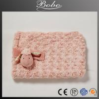 Buy cheap High quality plush blanket with lovely sheep image from wholesalers