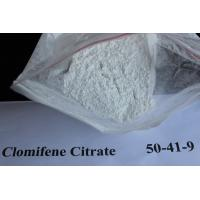 Buy cheap Safety Anti Estrogen Clomid Steroids Clomifene Citrate Powder for Muscle Building CAS 50-41-9 from wholesalers