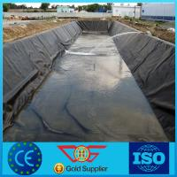 Quality Fish Pond Material 1.5mm HDPE Geomembrane for sale