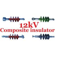 Buy cheap Small 12 kV Distribution Composite Polymer Insulator Creepage Distance 400mm from Wholesalers