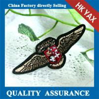 Buy cheap Top garment accessories wholesale custom patches, custom badge patches, factory custom patches from wholesalers