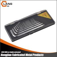 Buy cheap pearl chrome high quality S2 long type ball end hex key wrench set from wholesalers