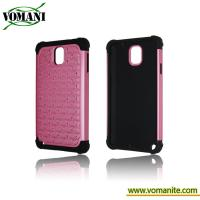 Buy cheap PC+Silicone case for Samsung Galaxy Note3,diamond phone cover accessory from wholesalers