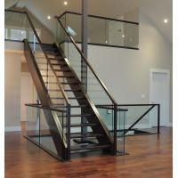 Buy cheap Aluminum glass channel U channel railing terrace railing desgin from wholesalers