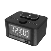Buy cheap Bluetooth 4.2 Speaker 10M 5W FM Radio Alarm Clock from wholesalers