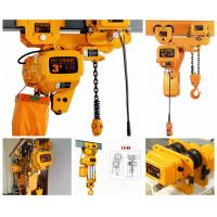 Buy cheap Different Capacity 0.5-20Tons Chain Hoist Electric Chain Hoist from wholesalers