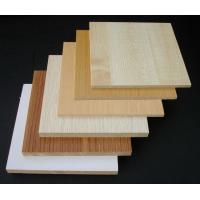 Buy cheap Waterproof Hardwood Decorative MDF Board / Construction Wood Veneer MDF Panels from wholesalers