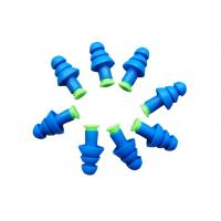 Buy cheap Airline Travel Noise Cancelling Ear Plugs , Reusable Ear Plugs For Swimming from wholesalers