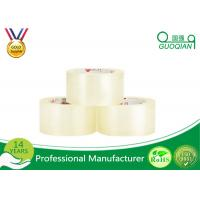 Custom Printed Crystal Clear Tape , Self Adhesive Transparent Waterproof Tape