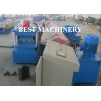 Buy cheap 2 / 3 Beam Exprpessway Rail Guardrail Forming Machine 3mm - 5mm Galavnized from wholesalers