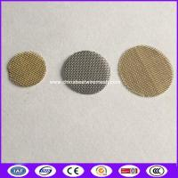 Buy cheap 3/4 Brass Smoking Pipe Screen Filter mesh replacement made in china from wholesalers