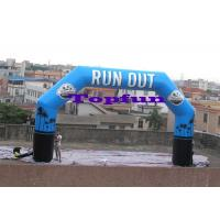 Buy cheap Customized Inflatable Finish Line Arch / Inflatable Archs for Sports And Events from wholesalers