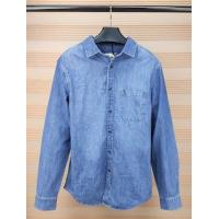 Buy cheap Mens Slim Style Denim Coat Blue Color Lined Demin Jacket In - Stock Items from wholesalers