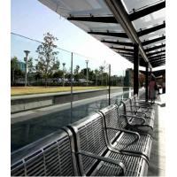Buy cheap Nano Coating Self Cleaning Glass Easy Cleaning For Bus Stop from wholesalers