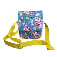 Buy cheap Beautiful Hand Girls Fashion Bags Adjustable Shoulder Strap Floral Print product