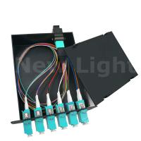 Buy cheap MPO / MTP male  -  LC 12 cores fiber optical distribution frame multi mode from wholesalers