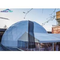 Buy cheap Customized Geodesic Dome Tent , Waitting Room Doom Tent , Large Stadium Round Dome Tent from wholesalers