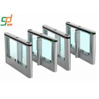 Buy cheap RFID Smart Automatic Fast Speed Gate Swing Barrier Gate Stylish Design OEM from wholesalers