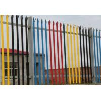 Buy cheap Zinc Coated Wire Metal Fence IPE Post  D Section Durable With Angle Iron Rail from wholesalers