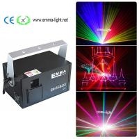 Buy cheap 2000mw laser rgb full color 2w rgb laser Animation Laser Show DJ Light DMX / ILDA signal/SD card from wholesalers