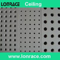 Buy cheap perforated gypsum ceiling tile from wholesalers