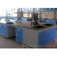 Buy cheap Lab Furniture Installations Custom Work Benches , Wall Cabinet Steel Work Bench from wholesalers